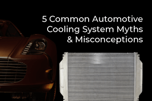Cooling Systems Misconceptions and myths