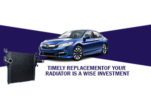 Timely replacement of your radiator is a wise investment